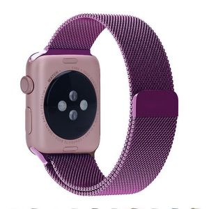 Accessories - 38mm Purple Magnetic Apple Watch Band
